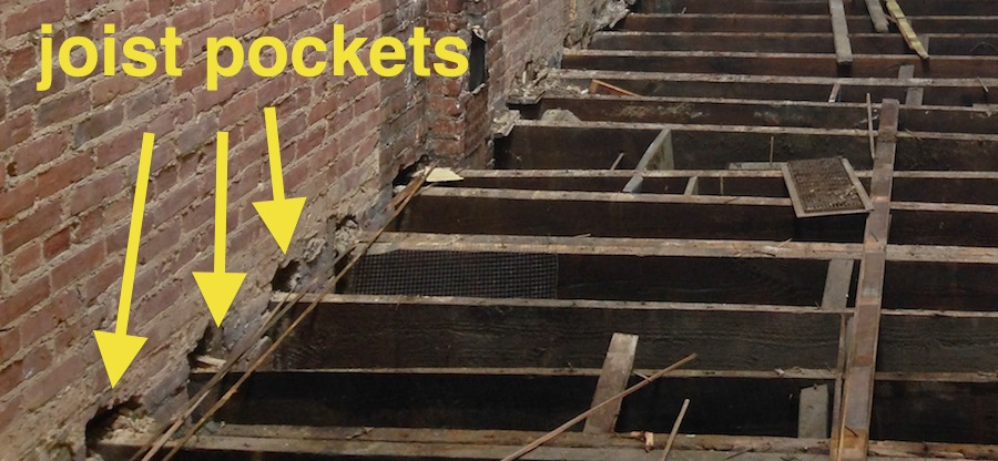 joist pockets baltimore brick by brick