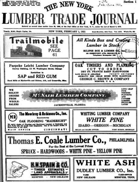 ny lumber trade journal